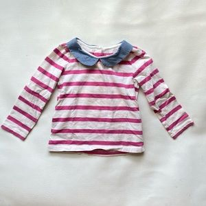 GUC Gap Long Sleeve Peter Pan Collar 3T